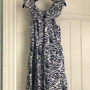 Vineyard Vines for Target girls Navy & White dress